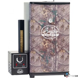 BRADLEY SMOKER 4-RACK REALTREE ELECTRIC SMOKER W/4JERKY RACKS