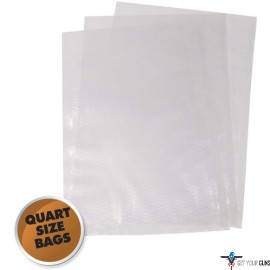 "WESTON 8""X12"" (QUART) VAC SEALER BAGS 30 COUNT"
