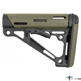 HOGUE AR-15 COLLAPSIBLE STOCK OD GREEN RUBBER COMMERCIAL
