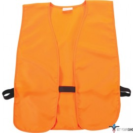 ALLEN ORANGE HUNTING VEST ADULT 38-48""