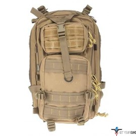 DRAGO TRACKER BACKPACK TAN 4-MAIN STORAGE AREA HEAVY DUTY