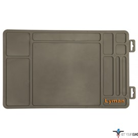 "LYMAN RIFLE MAINTENANCE MAT SYNTHETIC RUBBER 10""X36"""