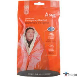 "AMK SOL EMERGENCY BLANKET 2.9 OZ, 60""X84"" MADE IN USA"