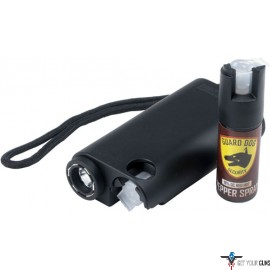 GUARD DOG OLYMPIAN 3-IN-1 BLK STUN GUN/LIGHT/PEPPER SPRAY