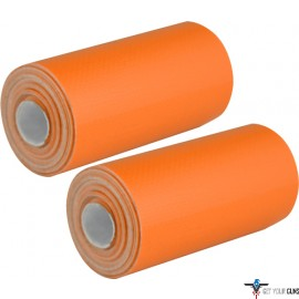"UST DUCT TAPE 2-PACK ORANGE 59""X1.9"" PER ROLL"