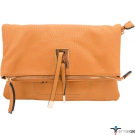 CAMELEON AYA CONCEAL CARRY PURSE CLUTCH/CROSSBODY HONEY