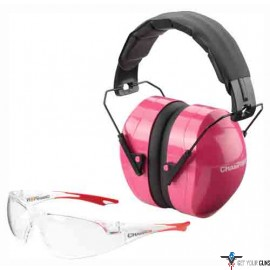CHAMPION EYES AND EARS COMBO PINK