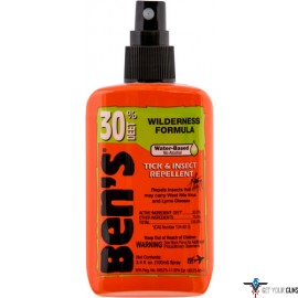 AMK BEN'S 30 INSECT REPELLENT 30% DEET 3.4OZ PUMP (CARDED)