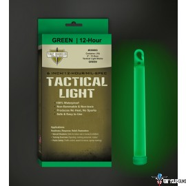 "TAC SHIELD TACTICAL LIGHT STICK 12 HOUR 6"" GREEN 10PK"