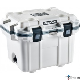 PELICAN COOLERS IM 30 QUART ELITE WHITE/GRAY