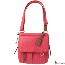 BULLDOG CONCEALED CARRY PURSE MED. CROSS BODY STYLE PINK