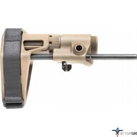 MAXIM CQB PISTOL PDW BRACE AR15 GEN6 B&S-STD FDE