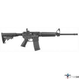 RUGER AR556 .223 30-SHOT BLACK SIX POSITION STOCK