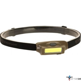 STREAMLIGHT BANDIT HEADLAMP WHITE/RED LED 3 MODES COYOTE