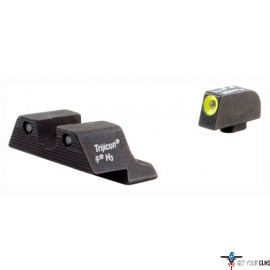 TRIJICON NIGHT SIGHT SET HD YELLOW OUTLINE S&W SHIELD