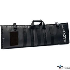 "HACKETT RIFLE BURRITO 36"" CASE /SHOOTING MAT BLACK 36"""