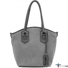 CAMELEON SELENE CONCEAL CARRY PURSE OPEN TOTE GREY