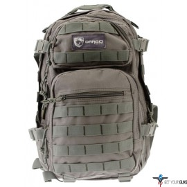 DRAGO SCOUT BACKPACK GRAY 5-MAIN STORAGE AREA HEAVY DUTY