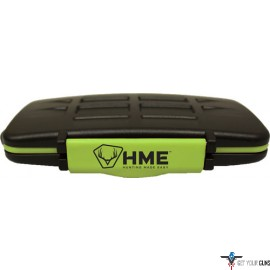 HME MEMORY CARD STORAGE CASE HOLDS 12 SD CARDS