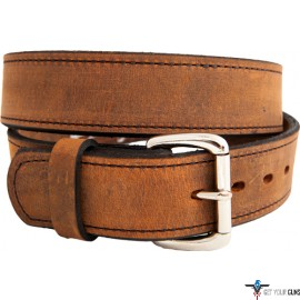 "VERSACARRY DOUBLE PLY BELT 38""X1.5"" WATER BUFFALO BROWN"