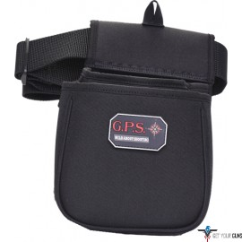 GPS CONTOURED DOUBLE SHELL PCH WEB BELT BLK