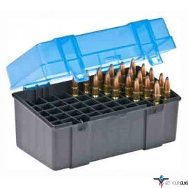PLANO AMMO BOX LARGE RIFLE 50-RNDS FLIP TOP