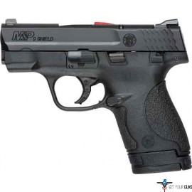 S&W SHIELD M&P9 9MM LUGER FS BLACKENED SS/BLACK CA. APPROVD