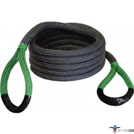 "BUBBA ROPE SIDEWINDER 5/8""X20' UTV POWER STRETCH RP GRN EYES"