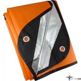 "UST SURVIVAL BLANKET 2.0 ORANGE/REFLECTIVE 60""X83"""