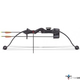 CENTERPOINT COMPOUND YOUTH BOW ELKHORN BLACK AGE 8-12