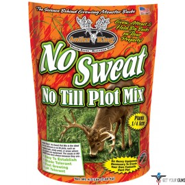 ANTLER KING FOOD PLOT SEED NO- SWEAT NO-TILL 1/4 ACRE 4.5LB