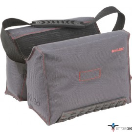 ALLEN THERMOBLOCK PRECISION SHOOTING BAG FILLED BLK/GRAY