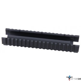 ERGO GRIP FOREND MOSSBERG 500 /590 TRI-RAIL STD LENGTH BLACK