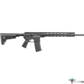 RUGER AR556 MPR .223 30-SHOT BLACK SIX POSITION STOCK M-LOK