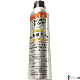 AMK BEN'S CLOTHING/GEAR INSECT REPELLENT PERMETHRIN 6OZ SPRAY