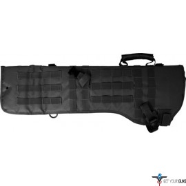 RED ROCK MOLLE RIFLE SCABBARD BLACK