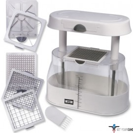 WESTON FRUIT AND VEGETABLE MULTI CHOPPER W/DICING BLADES