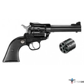 "RUGER SINGLE-SIX CONVERTIBLE .22LR/.22WMR 4-5/8"" AS BLUED"