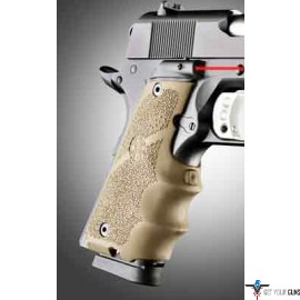 HOGUE LE LASER GRIP COLT GOVT MODEL DESERT TAN