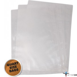 "WESTON 8""X12"" (QUART) VAC SEALER BAGS 100 COUNT"