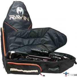 RAVIN XBOW SOFT CASE W/BACK- PACK STYLE STRAPPING BLACK