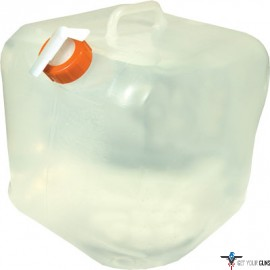 UST WATER CARRIER CUBE 5 GALLON CLEAR W/ON/OFF SPIGOT