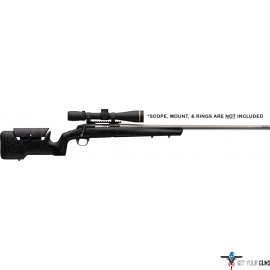 "BG X-BOLT MAX RANGE 6.5 CMOOR 26"" BLUED/STAINLESS COMPOSITE"