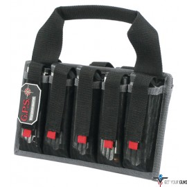 GPS PISTOL MAGAZINE TOTE HOLDS 10-PISTOL MAGS BLACK
