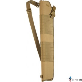 RED ROCK MOLLE SHOTGUN SCABBARD COYOTE TAN