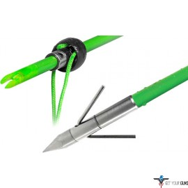 TRUGLO BOWFISHING SPEED SHOT ARROW W/LUNKER POINT & SLIDE