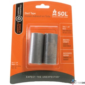 "AMK SOL DUCT TAPE 2 PACK 2""X50"" ROLLS"