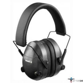 CHAMPION ELECTRONIC EAR MUFFS 25DB BLACK
