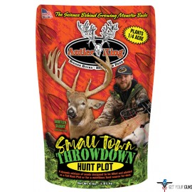 ANTLER KING FOOD PLOT SEED SMALL TOWN THROW DOWN 1/4 ACRE