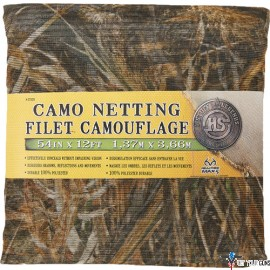 "H.S. CAMO NETTING 54""X12' ADVANTAGE MAX-5"